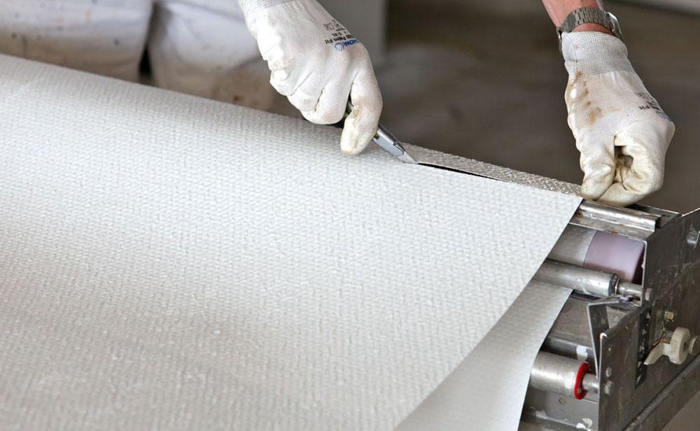 DVM Afbouw - Glasweefsel-behang